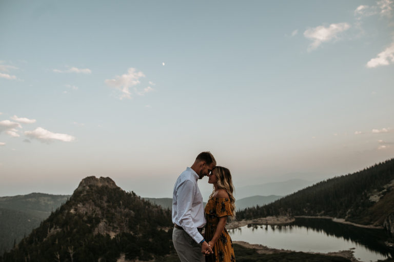 St. Mary's Glacier Colorado Engagement Photographer